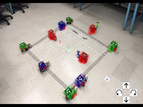 Trailer: Controlling Robot Swarms with Augmented Reality