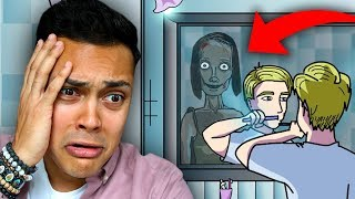 REACTING TO THE MOST SCARY STORIES ON YOUTUBE (SCARY ANIMATIONS)