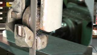 Machine Shop Tips #43 Part 4 Vertical Bandsaw Tubalcain