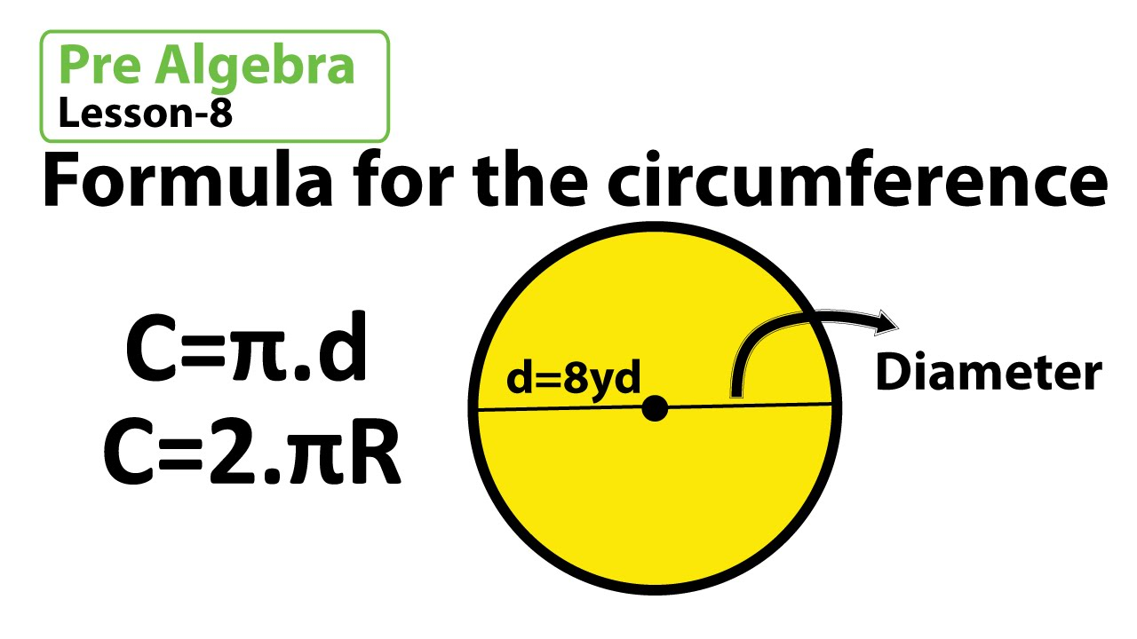 Formula for the circumference example Math problems for 7th graders Math  Olympiad