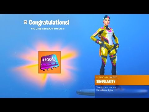 ALL 100 FORTBYTE LOCATIONS and REWARD in Fortnite..