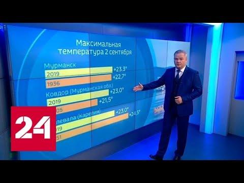 """""""Погода 24"""": характер погоды на Русской равнине начнет меняться - Россия 24"""