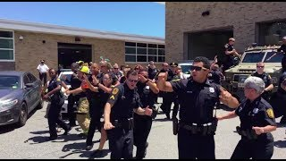 Lip Sync Challenge heats up with Norfolk (VA) PD's extraordinary cover of 'Uptown Funk'