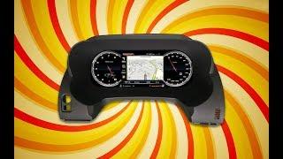 LCD электронная приборная панель IQ NAVI