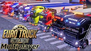 Euro Truck Simulator 2 Multiplayer - Comboio Exetrize