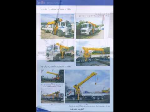 Bán xe tải cẩu - 0989 134 217