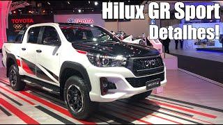 Novo Toyota Hilux GS-R 2019 Diesel em detalhes - Falando de Carro