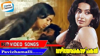 PAVIZHAMALLI POOVURANGI | VAZHIYORAKAZCHAKAL | VIDEO SONG | Evergreen Malayalam Movie Song |