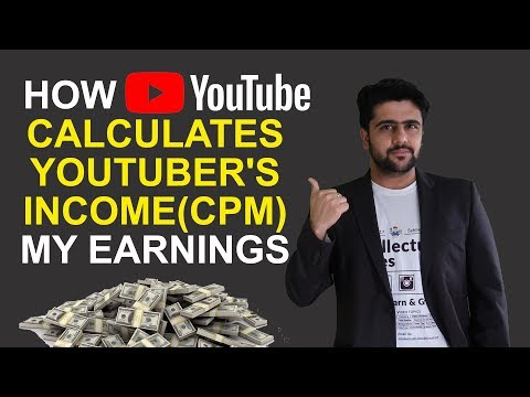 How Youtube Pay Us | CPM | My Earnings