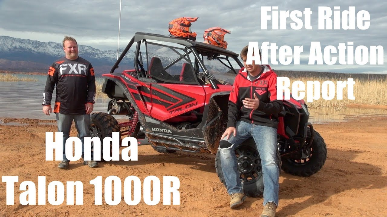 Honda Talon 1000R First Ride After Action Report