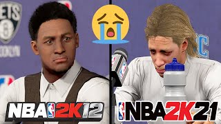 Evolution of What Happens When You Retire Early In NBA 2K Games (NBA 2K12 - NBA 2K21)