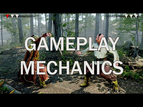 Hellish Quart - Gameplay Mechanics and example fight - 3d fencing game (pre-alpha)