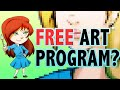 Drawing Challenge | Trying Out A Free Online Art Program (Kleki)