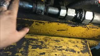 ремонт экскаватора погрузчика cat428B