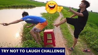 TRY NOT TO LAUGH CHALLENGE Comedy Videos 2019 - Episode 12 - Funny Vines || SML Troll