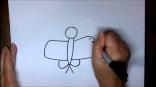 How To Draw A Butterfly Step By Step Easy Cartoon Drawing Tutorial With Doodleacademy