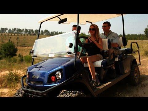 E-Z-Go Golf Cars, Textron - Designing Spaces