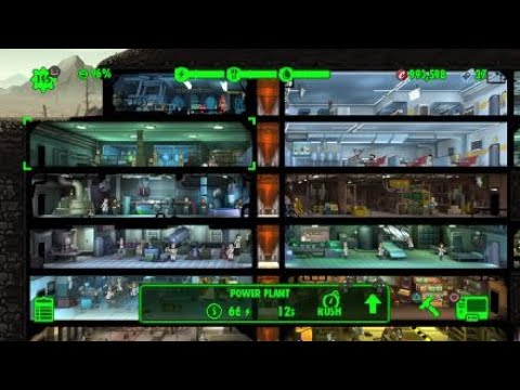 Fallout Shelter - How Many Days From Getting The Platinum Trophy? - Day 1