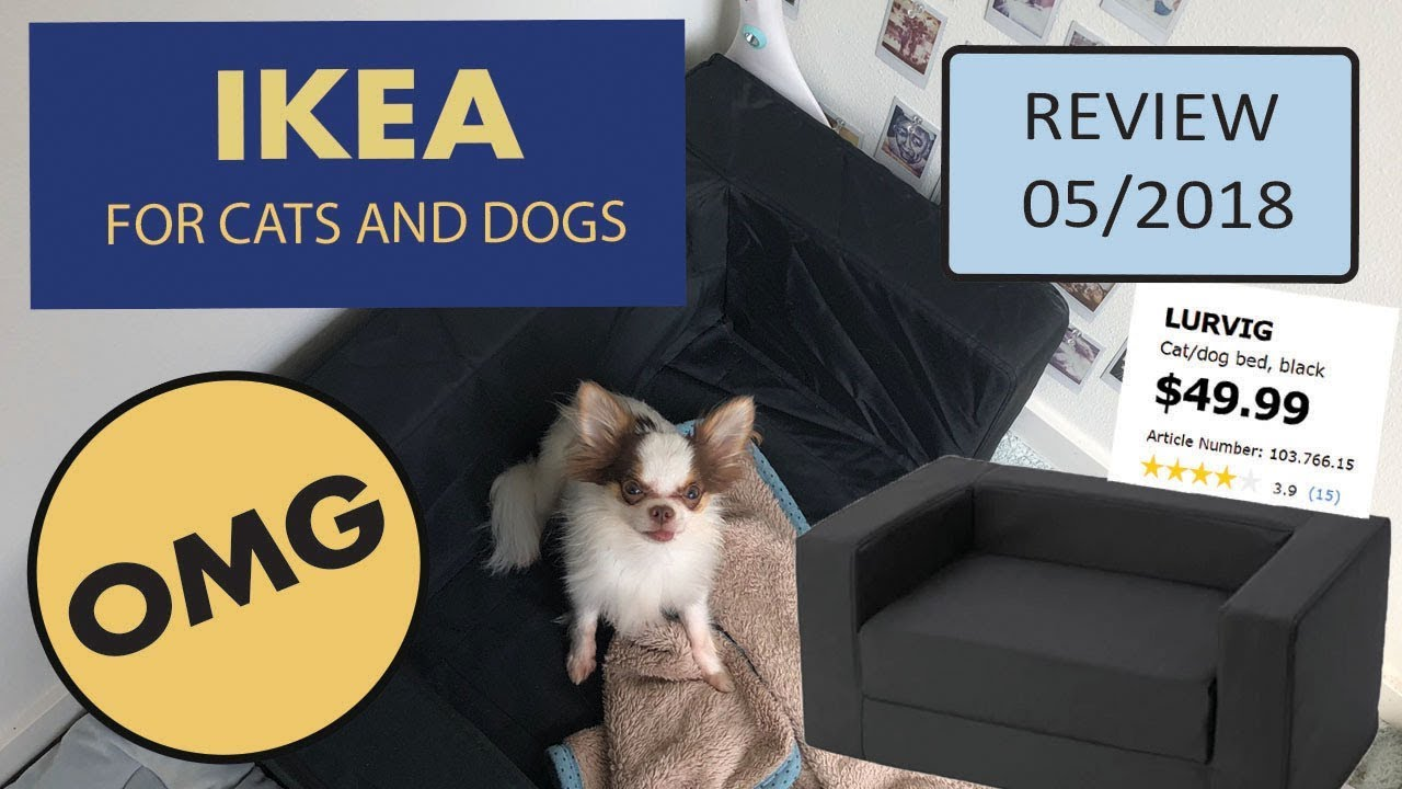 Ikea Dog Cat Sofa Bed Lurvig Review Unboxing Youtube