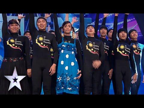 El Gamma Penumbra Earns 2nd Golden Buzzer | Asia's Got Talent Semis 3