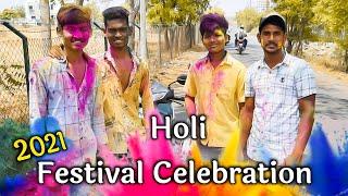 Holi Festival Celebration 2021  Rang Panchami Shots Video   Happy Holi Video   Rx Rohit 07