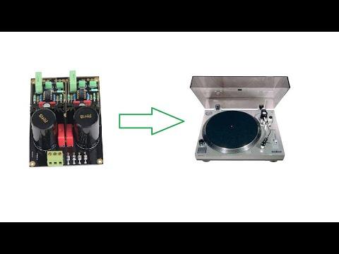 Встраиваем фонокорректор с Aliexpress в проигрыватель Sherwood PM9805
