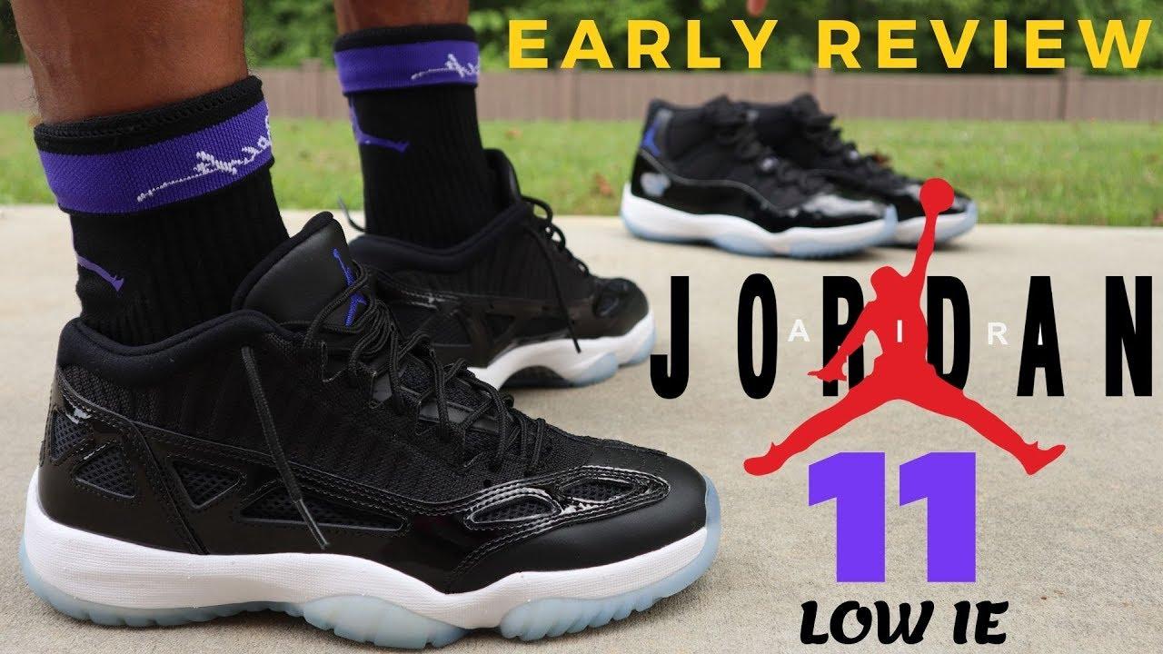 air jordan 11 retro low ie on feet