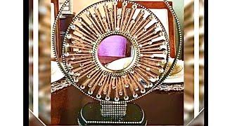 DIY Dollar Tree Mirror Home Decor Glam Fab Bling Creating Elegance For Less With Faithlyn 2018