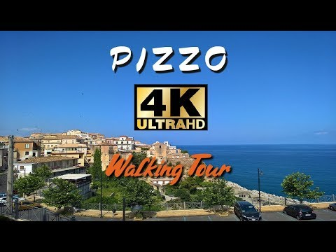 Pizzo - Italy walking tour in 4K   Calabria
