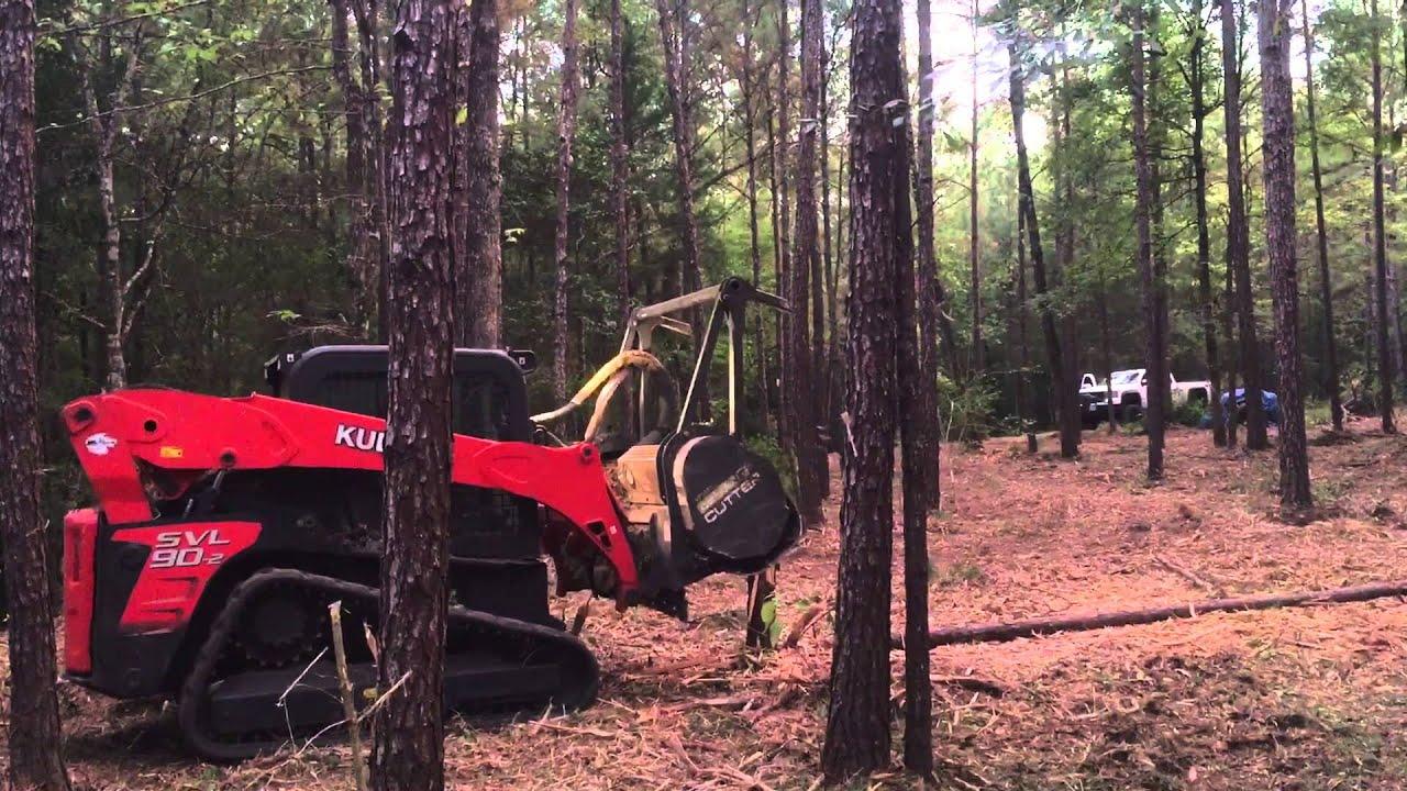Hydro Ax Underbrushing Forestry Mulcher Land Mulching