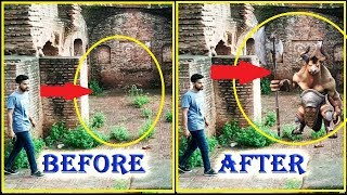 Scenes Before & After of Temple Run Blazing Sands In Real Life - 2017 New!