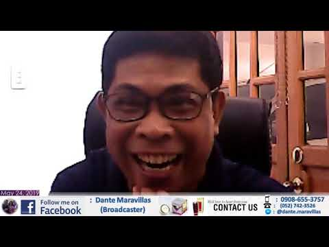 Dante Maravillas Live May 24,2019 Mp4 (full Video 1) Mga Handlers Ni Bikoy Madre
