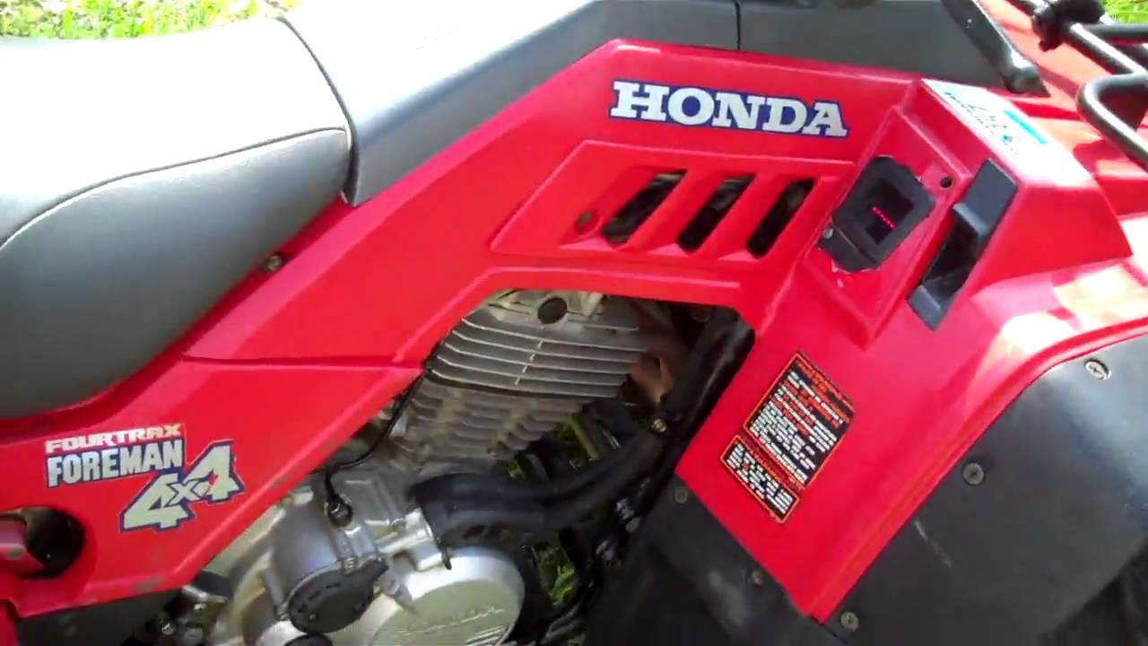 1990 Honda Fourtrax 300 Wiring Diagram Electric Window Trx350 Foreman Online Manual Cyclepedia Com Youtube