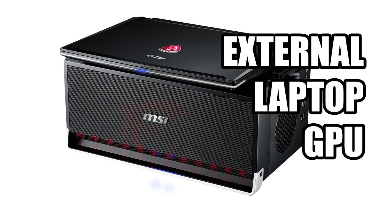 MSI GS30 Shadow External Graphics Card Enclosure - CES 2015