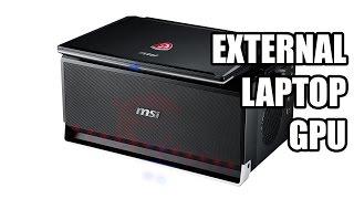 msi gs30 shadow external graphics card enclosure ces 2015