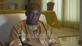 EXCLUSIVE   Gambia president Adama Barrow   we are waiting for ECOWAS clearance to go back