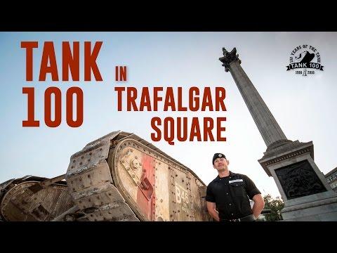 Tank 100 on Trafalgar Square