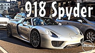 Dubai Porsche 918 Spyder Sounds in London!