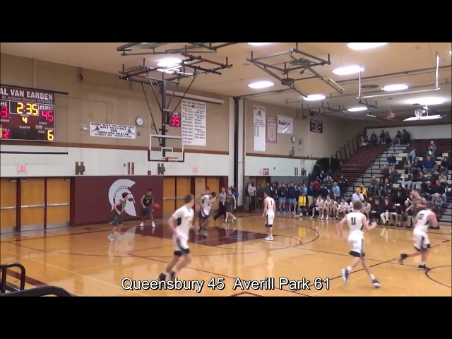 Game Highlights Boys' Varsity: Queensbury 48 vs Averill Park 67 (F)