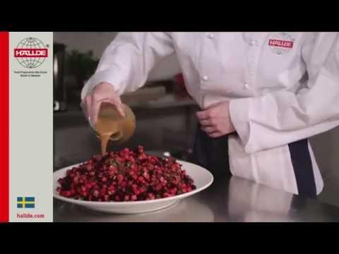Рецепт: Салат из крабовых палочек с кукурузой и яблоком на
