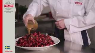 Свекольный салат с яблоком и огурцом_RG HALLDE_Beet root salad with apple and cucumber_ROVABO