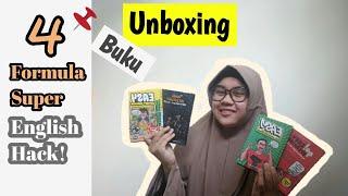 UNBOXING BUKU 4 Formula Super English Hack