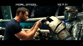 Живая сталь  Real Steel 2011 ТВролик #2  HD 1080p