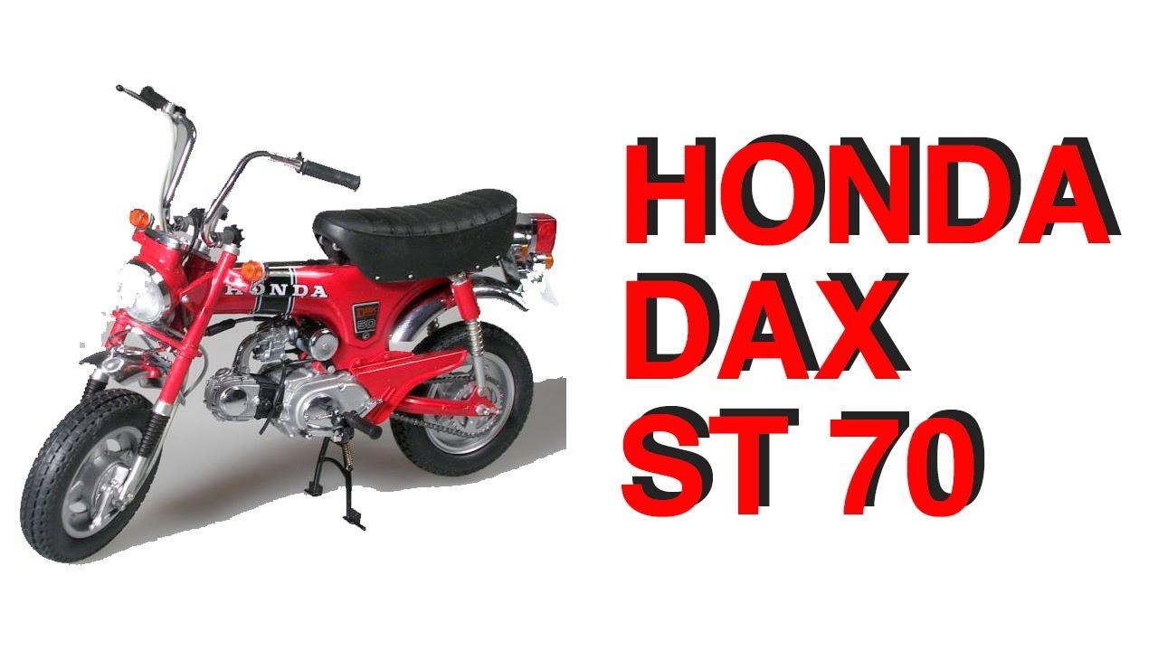 honda dax st 70 red 1994 honda dax mini moto youtube. Black Bedroom Furniture Sets. Home Design Ideas