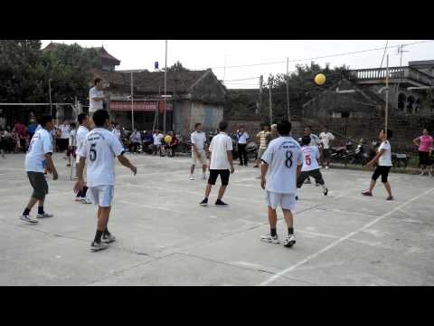 Giải bóng chuyền hơi xã đại đồng Nam cao tuyển Tổ 10 - tổ 7.3gp