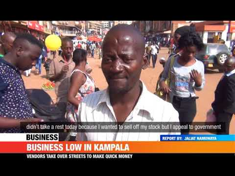 #PMLive: BUSINESS LOW IN KAMPALA DURING THE FESTIVE SEASON