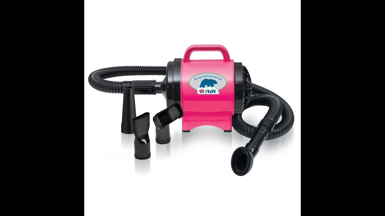 Dog Hair Dryer B Air Dryers Bear Power 1 High Velocity