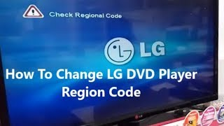 How To Change LG DVD Player Region Code