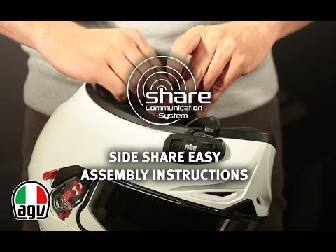 HOW TO: Assemble AGV Side Share EASY Communication System