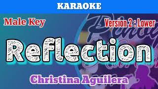 Reflection by christina aguilera ...